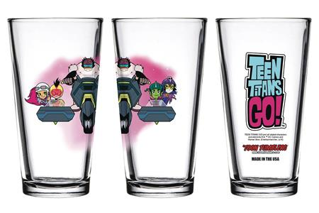 TOON TUMBLERS NIGHT BEGINS TO SHINE TEAM CYCLE PINT GLASS (C