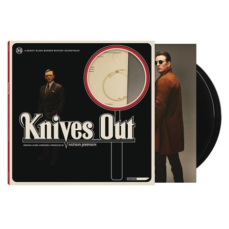 KNIVES OUT ORIGINAL MOVIE SOUNDTRACK 2XLP (Net) (C: 0-1-1)