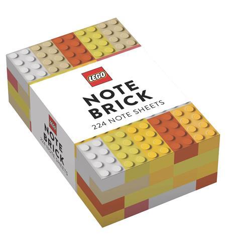 LEGO BRICK YELLOW-ORANGE NOTE BRICK (C: 1-1-0)