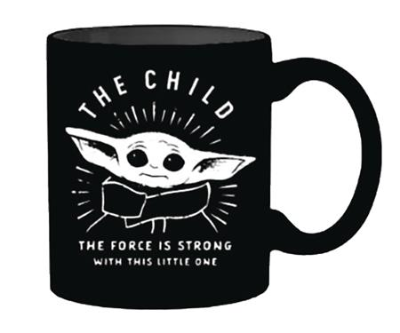 STAR WARS THE MANDALORIAN THE CHILD FORCE 20OZ CERAMIC MUG (