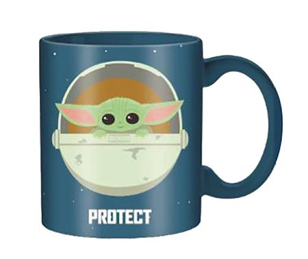 STAR WARS THE MANDALORIAN THE CHILD PROTECT 20OZ MUG (C: 1-1