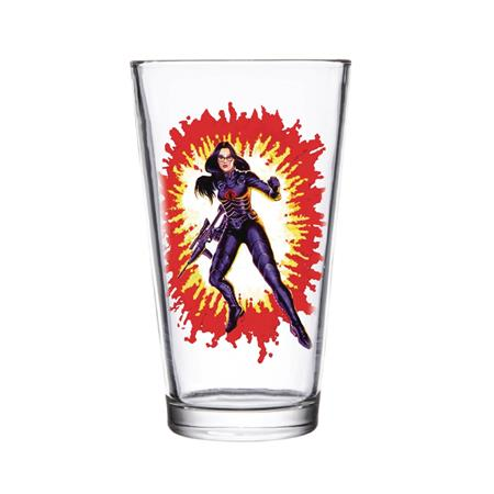 SUPER 7 GI JOE BARONESS PINT GLASS (C: 1-1-2)