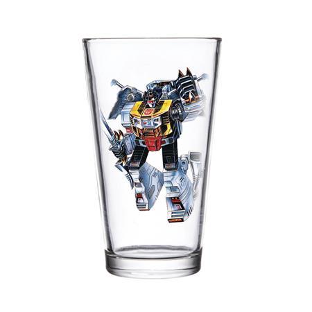 SUPER 7 TRANSFORMERS GRIMLOCK PINT GLASS (C: 1-1-2)