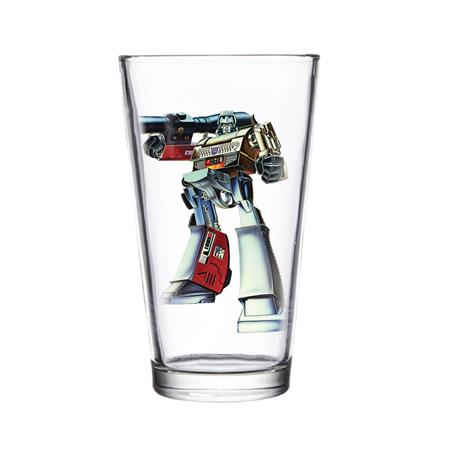 SUPER 7 TRANSFORMERS MEGATRON PINT GLASS (C: 1-1-2)
