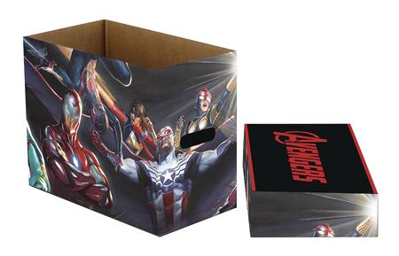 MARVEL ALL NEW AVENGERS 5PK SHORT COMIC STORAGE BOX (C: 1-1-