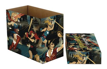 DC COMICS DC BOMBSHELLS 5 PK SHORT COMIC STORAGE BOX (C: 1-1