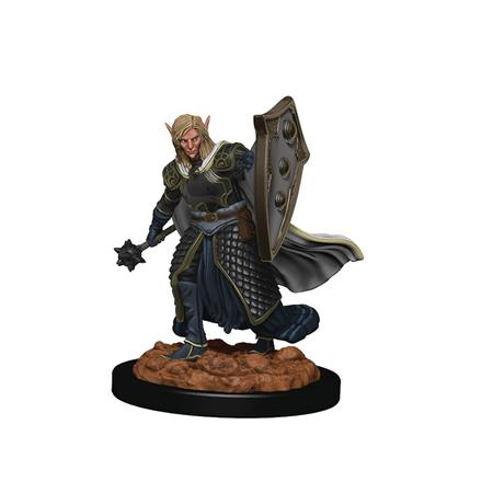 D&D ICONS REALM PREMIUM FIG ELF MALE CLERIC (C: 0-1-2)