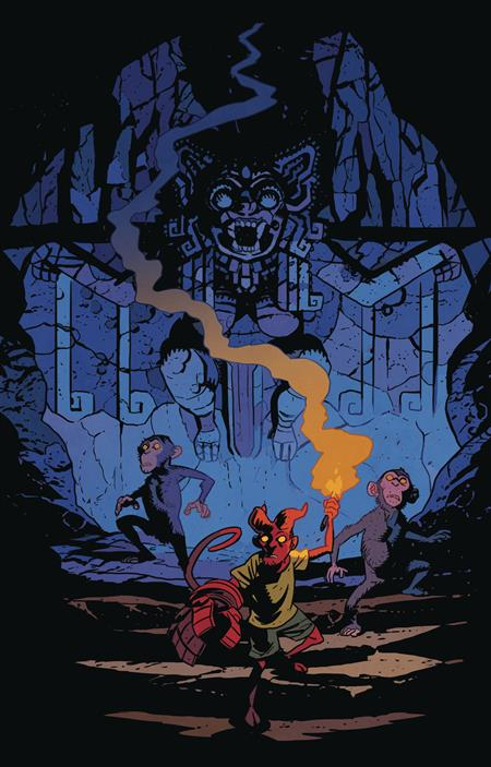 YOUNG HELLBOY THE HIDDEN LAND #3 (OF 4) CVR A SMITH