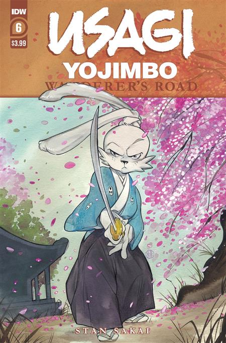 USAGI YOJIMBO WANDERERS ROAD #6 (OF 6) PEACH MOMOKO CVR