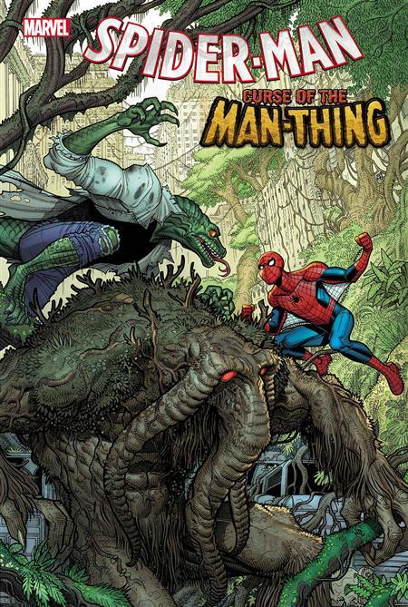 SPIDER-MAN CURSE OF MAN-THING #1 BRADSHAW VAR