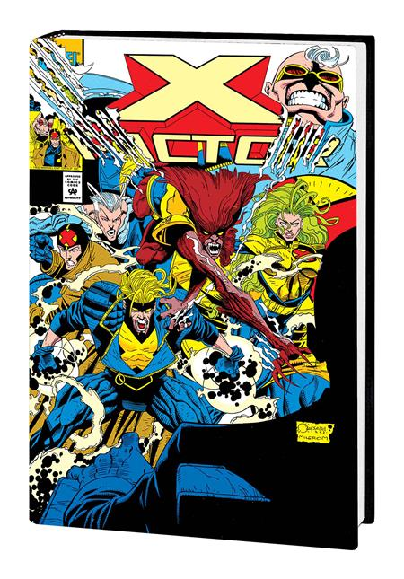 X-FACTOR BY PETER DAVID OMNIBUS HC VOL 01 QUESADA DM VAR