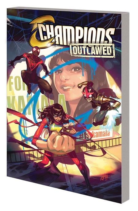 CHAMPIONS TP VOL 01 OUTLAWED