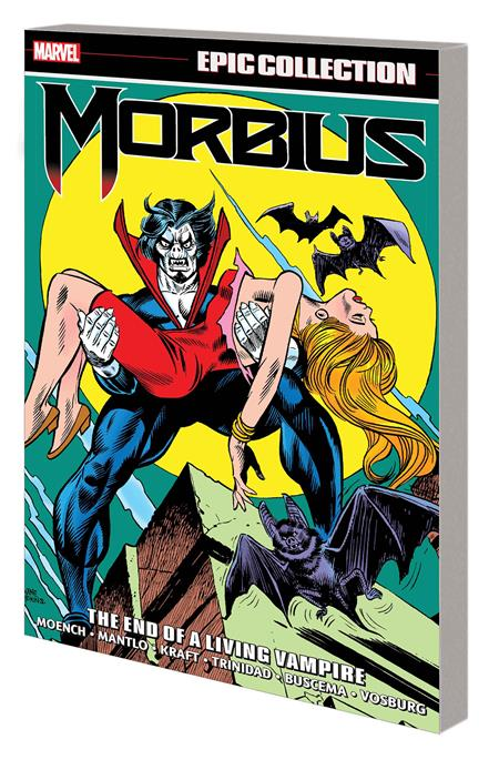 MORBIUS EPIC COLLECTION TP END LIVING VAMPIRE