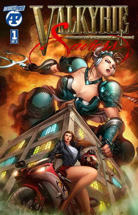 VALKYRIE SAVIORS #1 (OF 3)