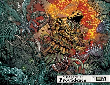 NIGHTMARES OF PROVIDENCE #1 WRAP VAR (MR) (C: 0-1-2)