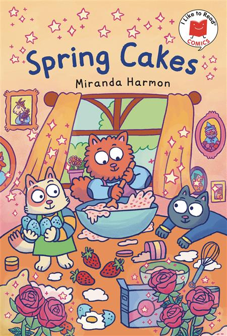 I LIKE TO READ COMICS GN SPRING CAKES (C: 0-1-0)