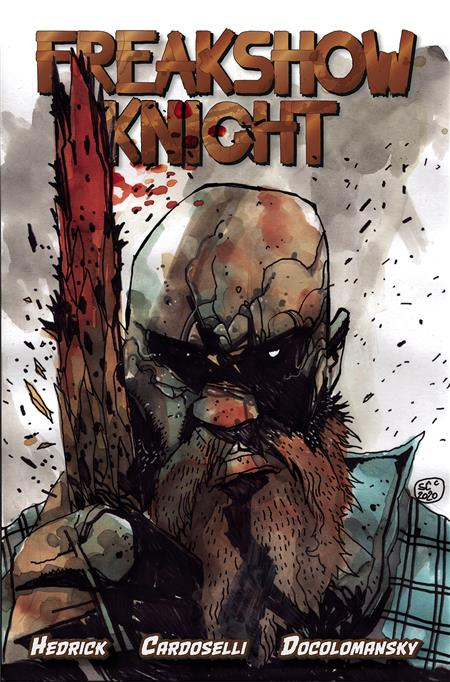 FREAKSHOW KNIGHT #1 (OF 5) 5 COPY PIROZZI  VAR INCV (Ne