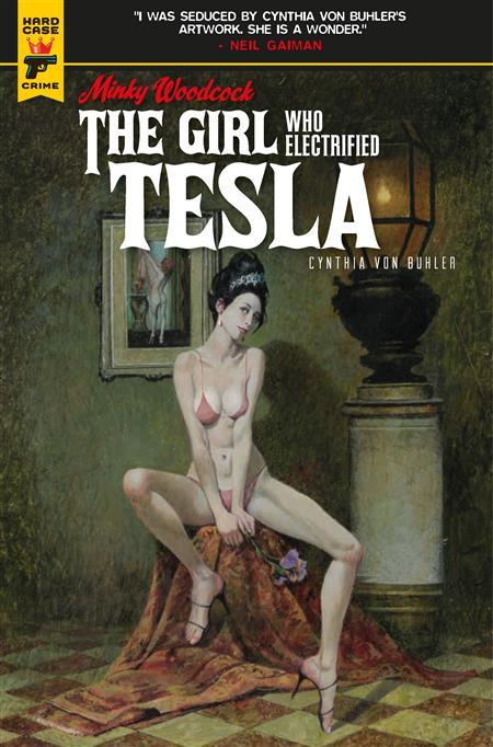 MINKY WOODCOCK GIRL ELECTRIFIED TESLA #1 CVR A MCGINNIS (MR)