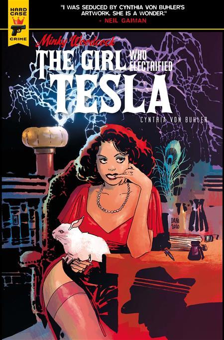 MINKY WOODCOCK GIRL ELECTRIFIED TESLA #1 CVR B STRIPS (MR)