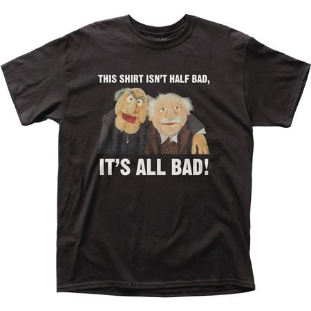 THE MUPPETS THIS SHIRT IS ALL BAD T/S LG (C: 1-1-2)
