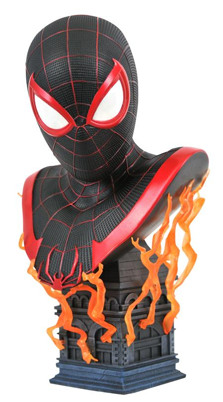 MARVEL LEGENDS IN 3D PS5 MILES MORALES 1/2 SCALE BUST (C: 1-