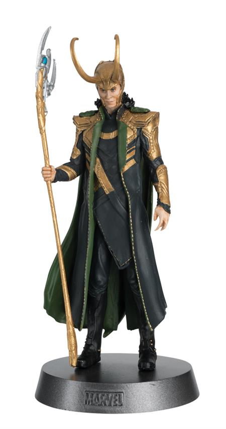 MARVEL MOVIE HERO COLLECTOR HEAVYWEIGHTS #10 #10 LOKI (AVENG