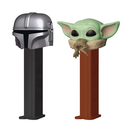 POP PEZ SW 2PK THE CHILD & MANDALORIAN (C: 1-1-2)