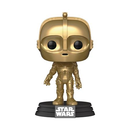 POP STAR WARS SW CONCEPT C3PO VINYL FIGURE (C: 1-1-2)