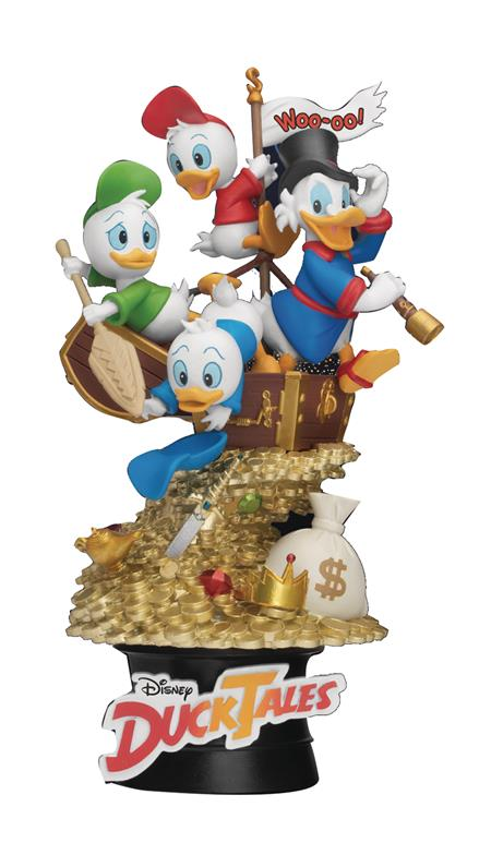 DISNEY CLASSIC ANI SER DS-061 DUCKTALES D-STAGE 6IN STATUE (