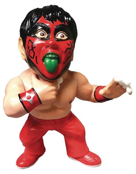 16D COLL LEGEND MASTERS GREAT MUTA 90S RED PAINT VINYL FIG (