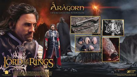 LORD OF THE RINGS ARAGORN 2.0 1/8 COLL AF (Net) (C: 0-1-2)
