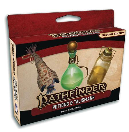 PATHFINDER POTIONS & TALISMANS DECK (P2)