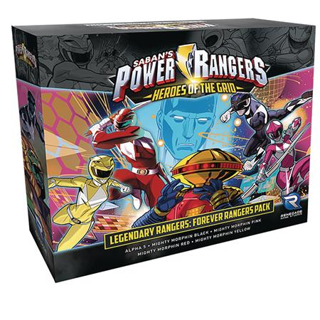 POWER RANGERS HEROES GRID LEGENDARY RANGERS FOREVER EXP PACK