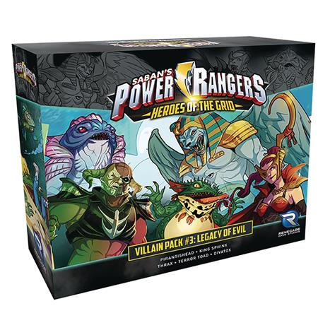 POWER RANGERS HEROES GRID VILLAIN PACK #3 EVIL