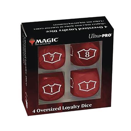 MTG TCG DLX 22MM 22MM MOUNTAIN LOYALTY DICE SET (Net) (C: 0-