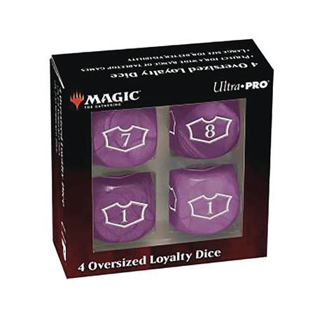 MTG TCG DLX 22MM SWAMP LOYALTY DICE SET (Net) (C: 0-1-2)