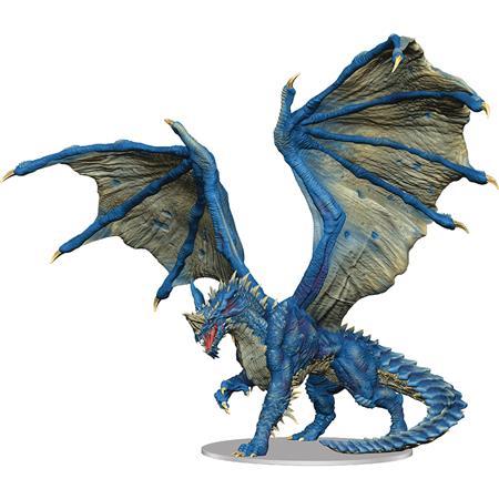D&D ICONS REALMS PREMIUM FIG ADULT BLUE DRAGON (C: 0-1-2)