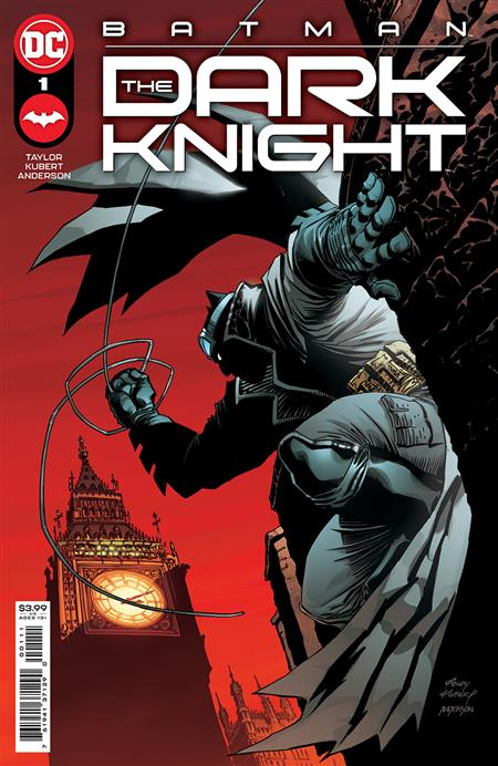 BATMAN THE DARK KNIGHT #1 (OF 6) CVR A ANDY KUBERT