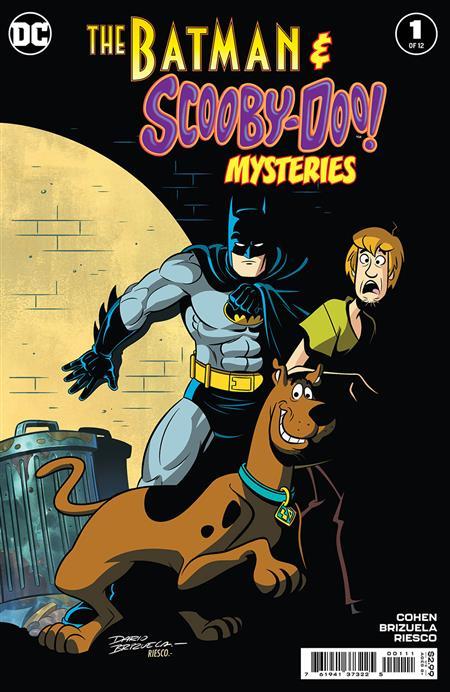 BATMAN & SCOOBY-DOO MYSTERIES #1 (OF 12)