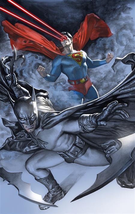 BATMAN SUPERMAN #17 CVR B RODOLFO MIGLIAR CARD STOCK VAR