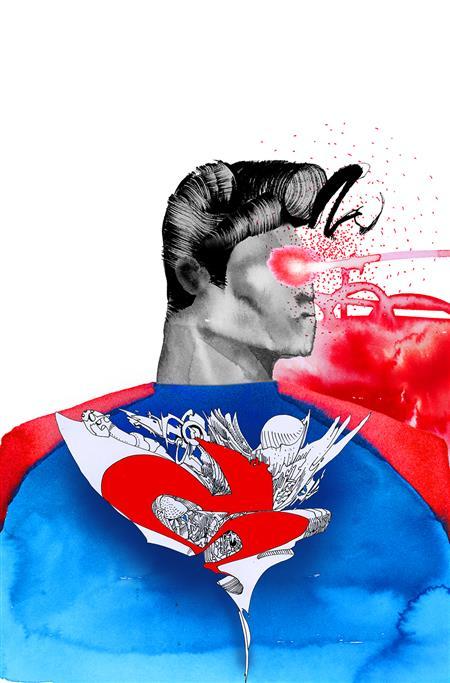 SUPERMAN RED & BLUE #2 (OF 6) CVR C DAVID CHOE VAR