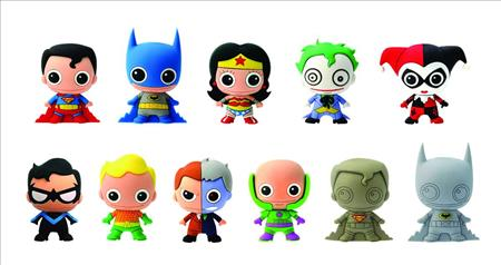 Dc Heroes Series 1 Laser Cut Figural Keyring 24pc Bmb Ds