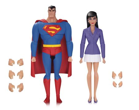 SUPERMAN ANIMATED SER SUPERMAN & LOIS LANE AF 2 PK