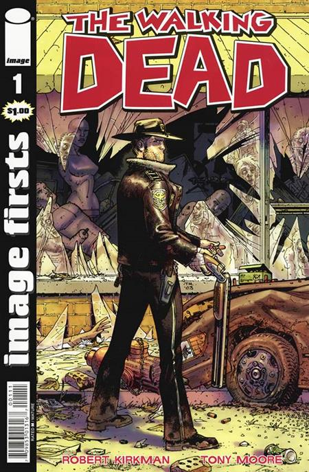 IMAGE FIRSTS WALKING DEAD CURR PTG #1 (MR)