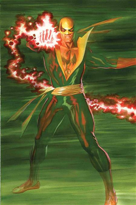 IRON FIST #1 ROSS VAR