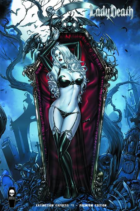LADY DEATH EXTINCTION EXPRESS #1 FOIL PREMIUM ED (MR)