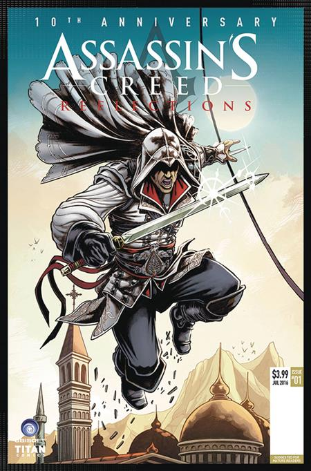 ASSASSINS CREED REFLECTIONS #1 (OF 4) CVR D ARRANZ (MR)