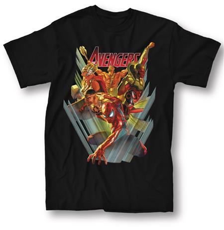 MARVEL AVENGERS #1 BLACK T/S XL (C: 1-1-0)