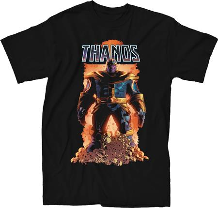 MARVEL THANOS #1 BLACK T/S LG (C: 1-1-0)