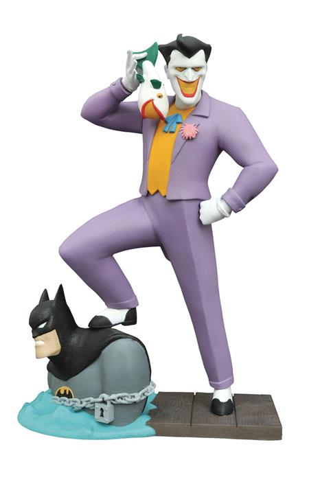 BATMAN TAS GALLERY LAUGHING FISH JOKER PVC FIGURE (C: 1-1-2)